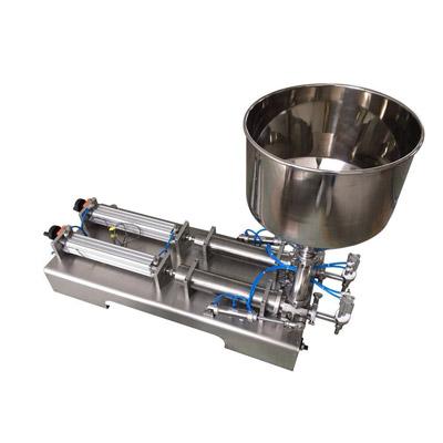 Dos Cabeza Ungüento de la máquina de llenado (tipo horizontal)