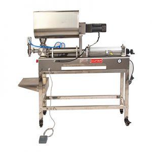 G1WGDB Máquina de llenado de pasta semiautomática con agitación.