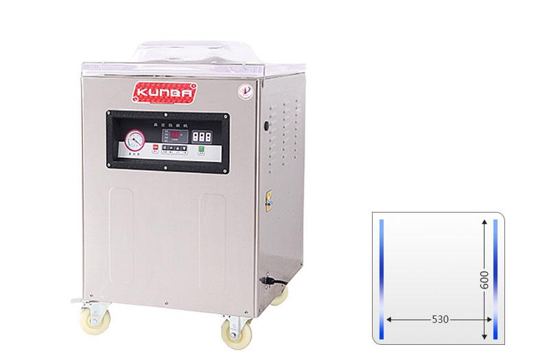 Máquina de embalaje de vacío de cámara simple DZ600-2