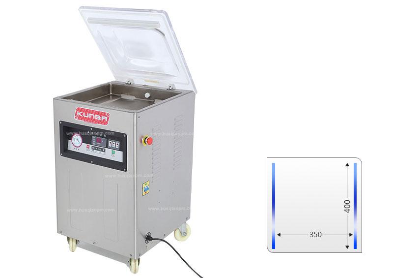 Máquina de embalaje del vacío de la sola cámara de DZ400-3