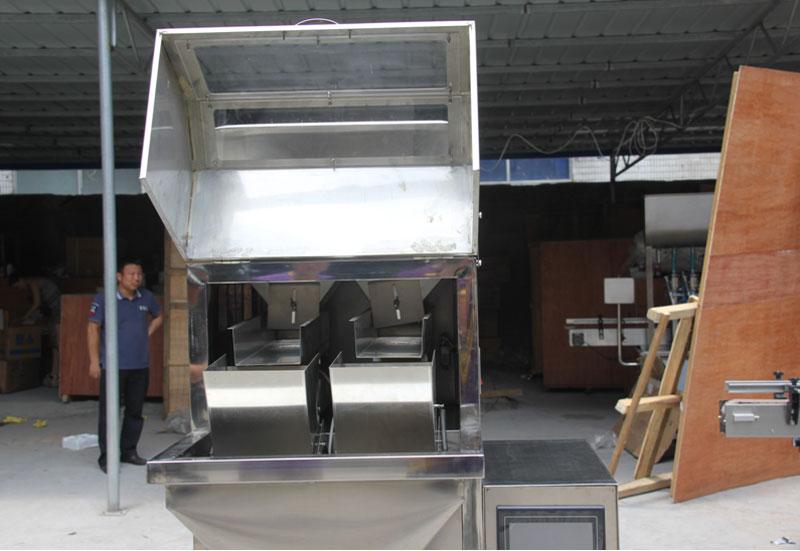 Máquina de envasado de gránulos de pesaje DC-B-2
