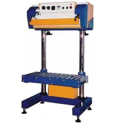Máquina neumática grande de sellado de bolsas de plástico QLF-700A-sincropack-Barcelona