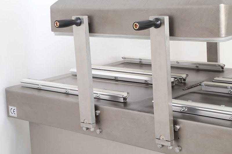 Sellador de vacío de doble cámara o empaquetador DZ-700-SA-8