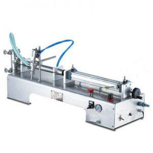 Una cabeza de maquina de llenado de liquidos (tipo horizontal)