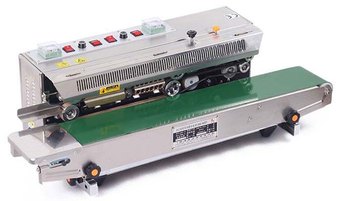 máquina de sellado de bolsas horizontal Frm 980-6
