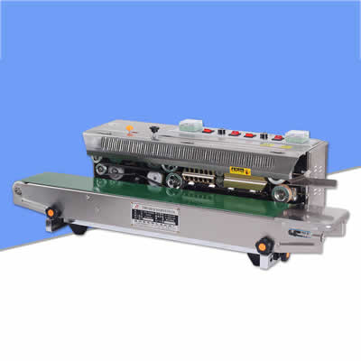 máquina de sellado de bolsas horizontal Frm 980