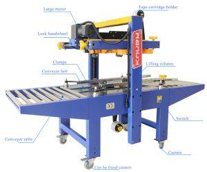 Máquina de sellado de cartón FJ-6050L-3